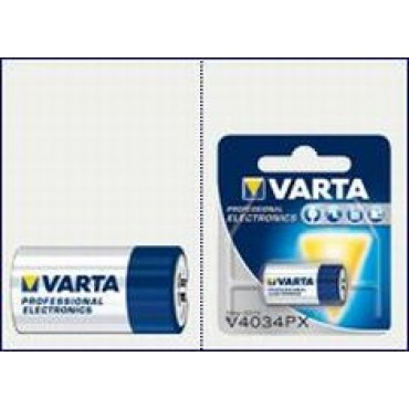 Varta Batterij Photo V4034Px 6Volt 13mmx25.2mm  4-LR44 28A 4G13 A544 1406CL 2CR1/3N 4034PX