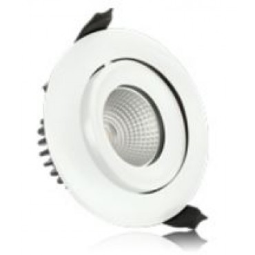 Integral Led Inb.spot Wit Fire 6W 3000K 430L Wentel Dimb 92/100mm 36gr ILDLFR92C001