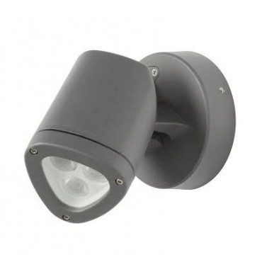 Robus Apex LED Wand en Spies 4.5Watt IP54 3000K Antrac RAX4530-25