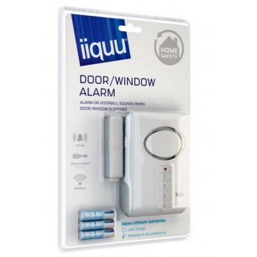 510Ilsaa003: Iiquu Door/Window Alarm