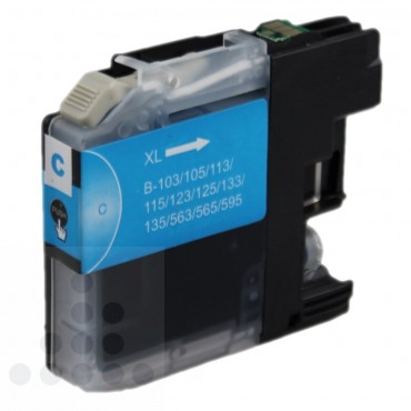 Inksave Brother LC 125XL-C