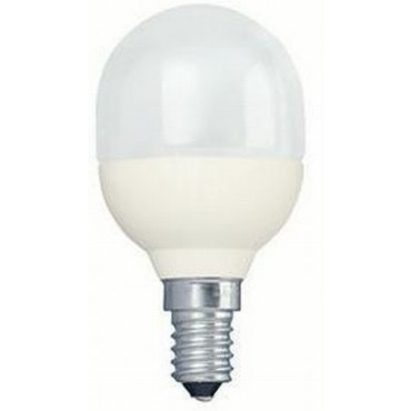Philips Spaarlamp Kogellamp 8W E14 Softone T45