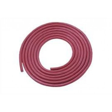 Siliconen Hittebestendig 2x0.75mm2 Rood Ring 100meter